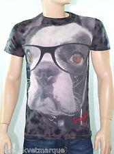 DESIGUAL Tee shirt homme T Shirt  DEFEN NEGRO 41T1481 coloris 2000
