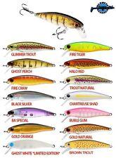 Leurre poisson nageur minnow jerk HD Trout DYNAMIC LURES 5,5cm 4g pêche truite