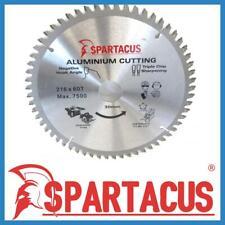 Spartacus Aluminium Cutting Saw Blade 216 mm x 60 Teeth x 30mm Various Models