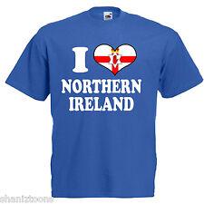 I Love Heart Northern Ireland Children's Kids T Shirt