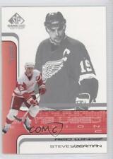 2001-02 SP Game Used Edition #18 Steve Yzerman Detroit Red Wings Hockey Card