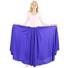 Danzcue Girls Long Full Circle Dance Skirt