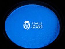 Blue glow in the dark fluorescent pigment poudre pour peinture plasti dip nail art