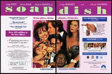 SOAPDISH__Orig. 1991 Trade AD movie promo__SALLY FIELD__KEVIN KLINE_TERI HATCHER