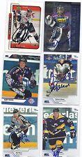 Boris Rousson Signed Hockey Card Munchen 2001 DEL