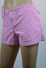 Ralph Lauren Pink & White Cotton Checkered Shorts - NWT