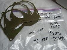 Suzuki TC100,TS100,TC90 1971-77 nos Magneto cover gaskets 11483-25010