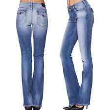 True Religion Jeans Becca Twisted bootcut azul/azul claro nuevo