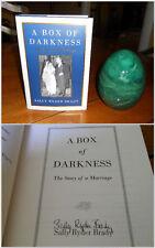 SIGNED ~ A Box of Darkness by Sally Ryder Brady 1st/1st