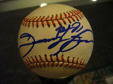 SAMMY SOSA CHICAGO CUBS WHITE SOX SINGLE SIGNED BASEBALL JSA BLUE SHARPIE NICE