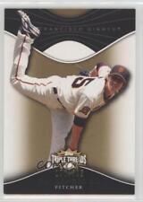 2009 Topps Triple Threads Sepia #92 Tim Lincecum San Francisco Giants Card