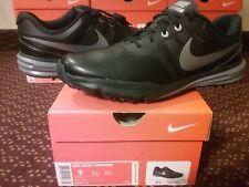 Nike Air Zoom Lunar Command Golf Cleats Black Metallic Cool Grey tw 1 704427 001