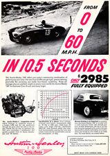1955 Austin Healey 100 - Advertising Poster