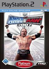 WWE SmackDown vs. Raw 2007 PLATINUM ps2 PLAYSTATION 2
