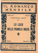 la lega della primula rossa-baronessa orczy - 1931