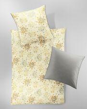 Irisette Mako-Satin Bettwäsche Sol-K 8775-80 100% Baumwolle Wendeoptik Blumen