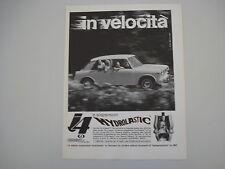 advertising Pubblicità 1965 INNOCENTI J4 J 4
