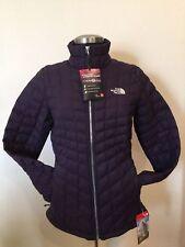 NORTHFACE  Womens Thermoball FZ Jacket S-M-L-XL Dark EGGPLANT/Silver Metallic