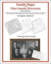 Family Maps Vilas County Wisconsin Genealogy WI Plat