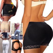 Women Padded Panties Enhancer Body Shaper Butt Lifter Booty Bodyshorts Underwear