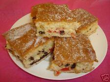 3 x HOMEMADE FARMHOUSE FRUIT CAKE SQUARES