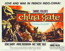 China Gate Angie Dickinson vintage movie poster