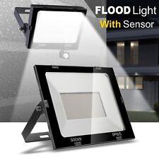 Floodlight PIR Motion Sensor 20W 30W 50W 100W Outdoor Security LED Flood Lights