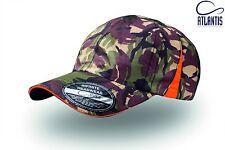 Slam cap 100% poliestere, cappellini 6 pannelli con inserti laterali, pannelli