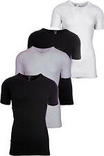 Livergy Herren Unterhemd T-Shirt M L XL schwarz weiß Baumwolle Shirt Unterwäsche