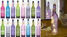 Starlight Botella Glow Light Up Botella de vino regalo para su madre hija hermana gran