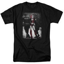 BATMAN HARLEY QUINN ARREST Officially Licensed Men's Graphic Tee Shirt SM-5XL