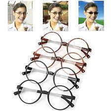 New Photochromic Transition Lens Large Round 360 Reading Glasses Flexible Frame