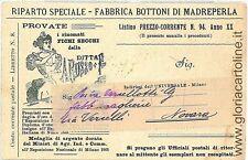 CARTOLINA d'Epoca - TARANTO : CARTONCINO PUBBLICITARIO