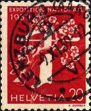 SVIZZERA - 1939 - Esposizione nazionale di Zurigo, iscrizioni in francese (II)