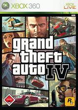 Xbox 360 GTA 4 IV Grand Theft Auto deutsch gebraucht OVP günstig online kaufen