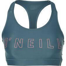 O'Neill Sportbra Pw Low Impact Bra Top Green Plain Colour