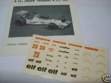 ENSIGN F1 N 177 THEODORE 1977 PATRICK TAMBAY DECAL 1/43
