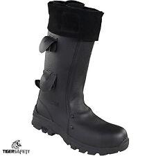 Rock Fall Vulcan RF7000 Flame Retardant High Leg Foundry Welders Safety Boots