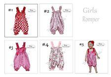 Romper Suit Girls Dress Kids Satin One Piece Cool Baby Knickerbockers Pants