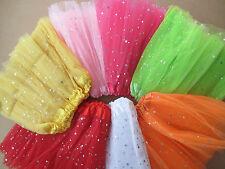 Tütü Ballet Skirt Petticoat Girls Fancy Helloween Carnival Glitter Tütü NEW!