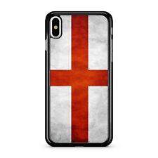 Gran Bretaña Bandera Inglaterra Impresionante Efecto De Mármol Blanco 2D Teléfono Estuche Cubierta