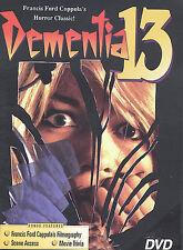 Dementia 13 Jack Nicholsen Factory Sealed (DVD, 2001)