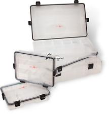 Quantum Waterproof Tackle Box ,Wasserdichte Zubehör Box Größe S-M-L