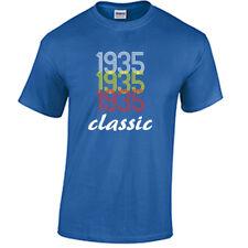 Born in 1935 Birthday T Shirt Birth year Born in year Shirt 83rd Birthday Gift