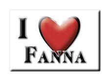 CALAMITA FRIULI VENEZIA GIULIA FRIDGE MAGNET MAGNETE SOUVENIR LOVE FANNA (PN)