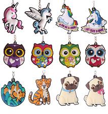Novelty Animal Emoji Gift Keyrings House Car Keyring Key rings Key ring