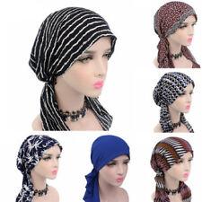 Women Stretch Bonnet Turban Hat Head Scarf Wrap Chemo Bandana Hijab Cap Beanie
