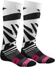 THOR MOTO TRICOT dazz noir/blanc/rose chaussures