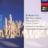 SIBELIUS JEAN - Symphonies /tapiola / En Saga - 2 CD - *Excellent Condition*