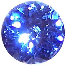 Natural Fine Cornflower Blue Sapphire - Round Diamond Cut - Sri Lanka - AAA Grad